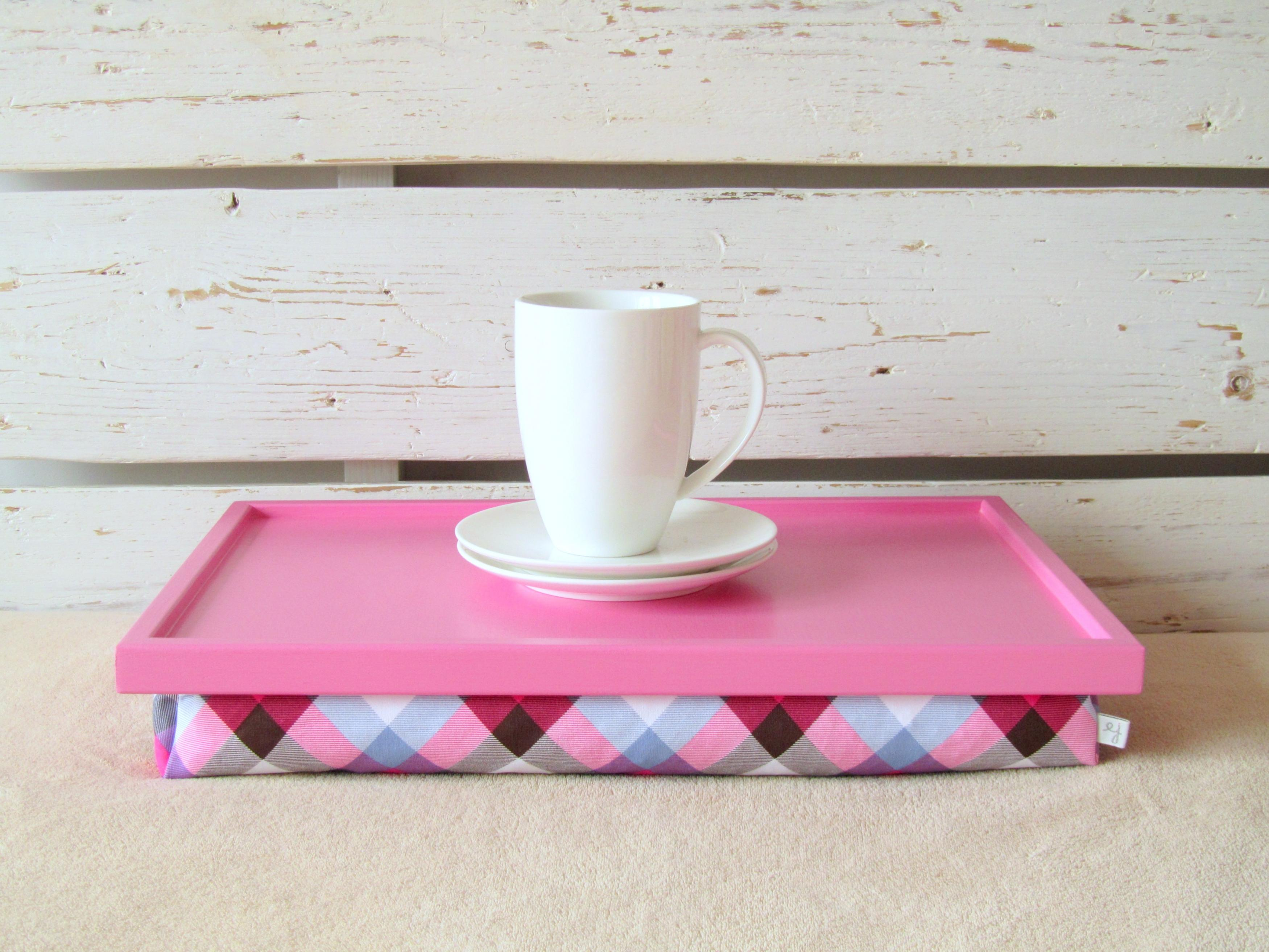 Laptop Lap Desk Or Breakfast Serving Tray Custom Order